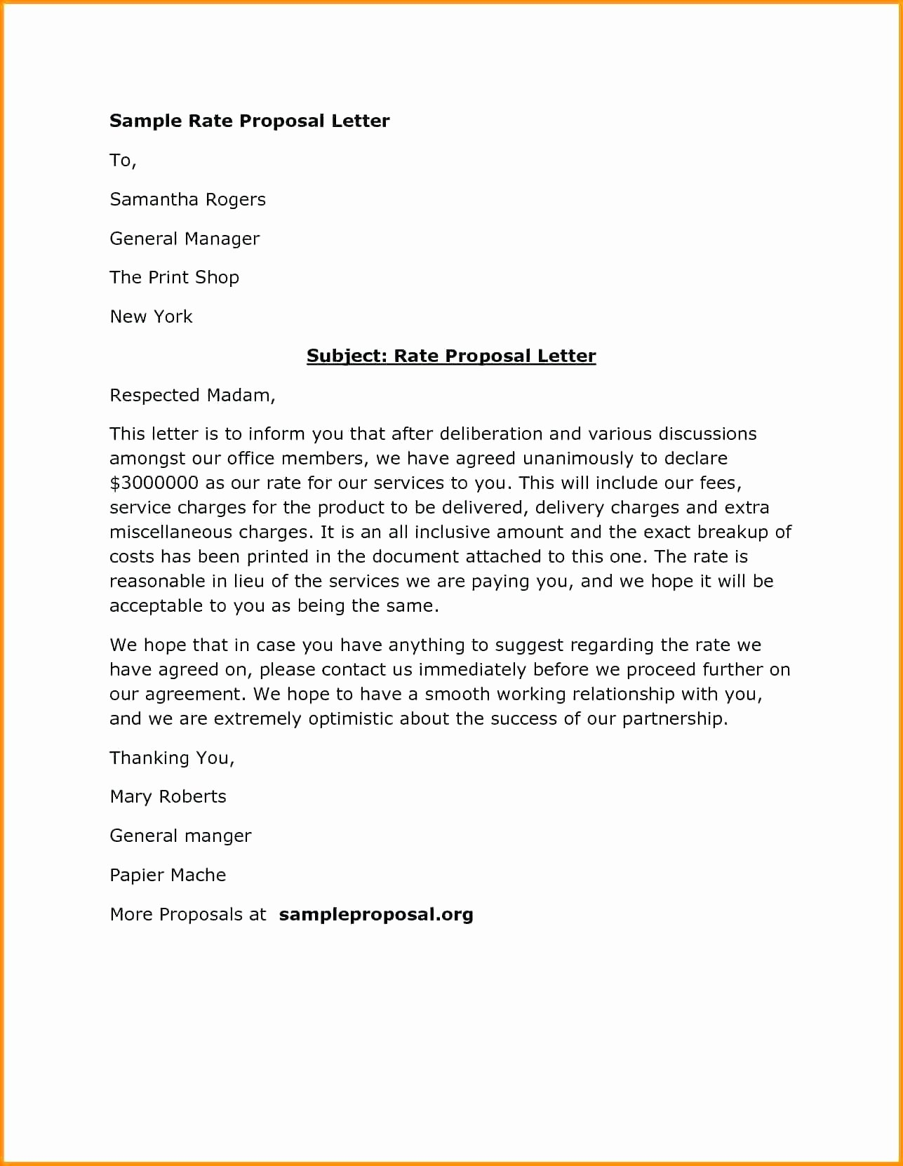 Sample Letter Of Collaboration Proposal Inspirational 20 Business Collaboration Proposal Letter Sample