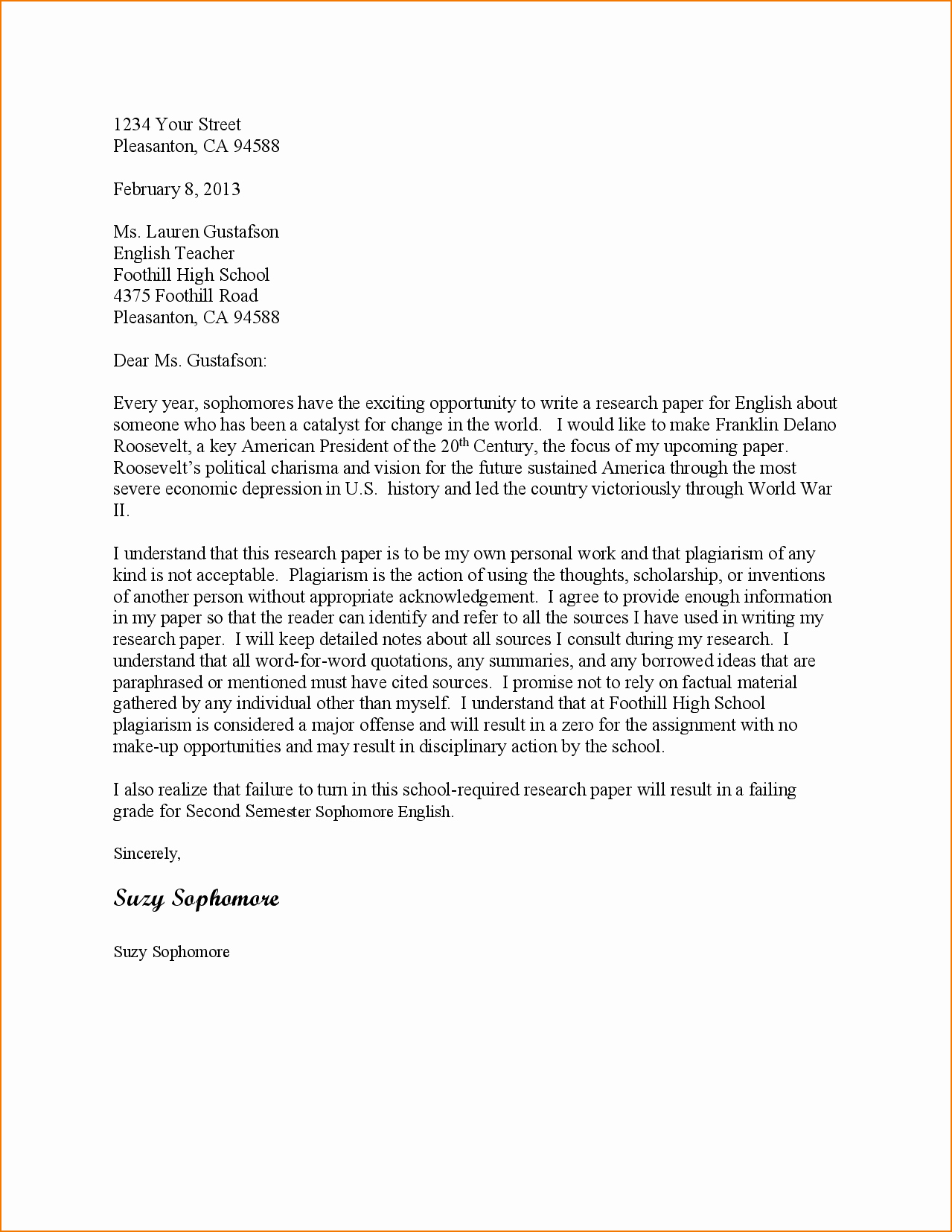 Sample Letter Of Collaboration Proposal New 4 Business Proposal Letter Sample