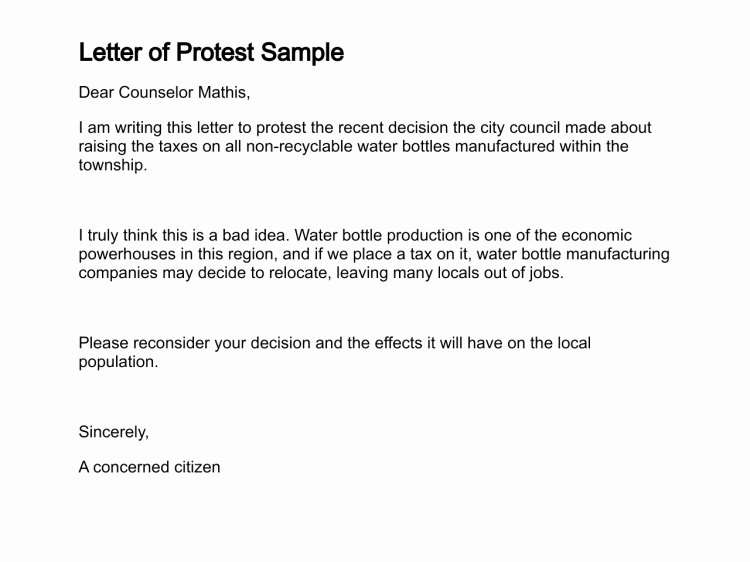 Sample Letter Protest Unemployment Benefits Best Of Letter Of Protest