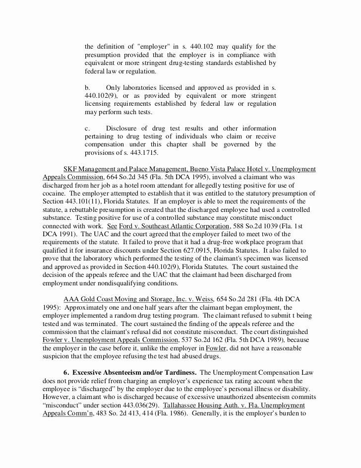 Sample Letter Protest Unemployment Benefits Fresh forst Pursuing An Unemployment Benefits Claim