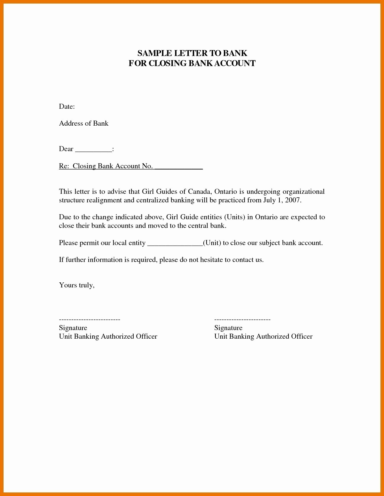 Sample Letter to Close Bank Account Elegant Valid Letter format Bank Account Closing