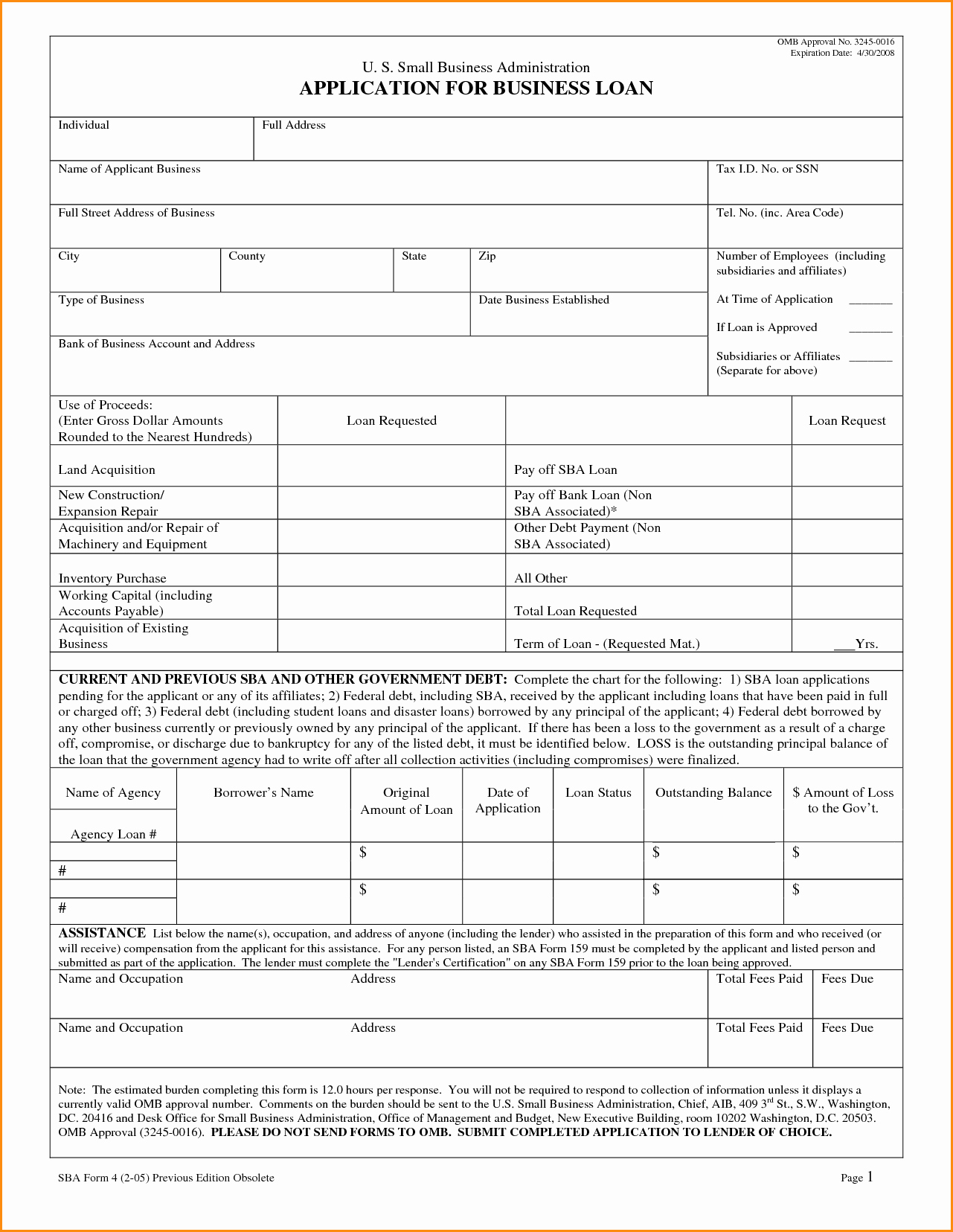 Sample Loan Application form Lovely How to Apply for An Sba Loan In 4 Steps