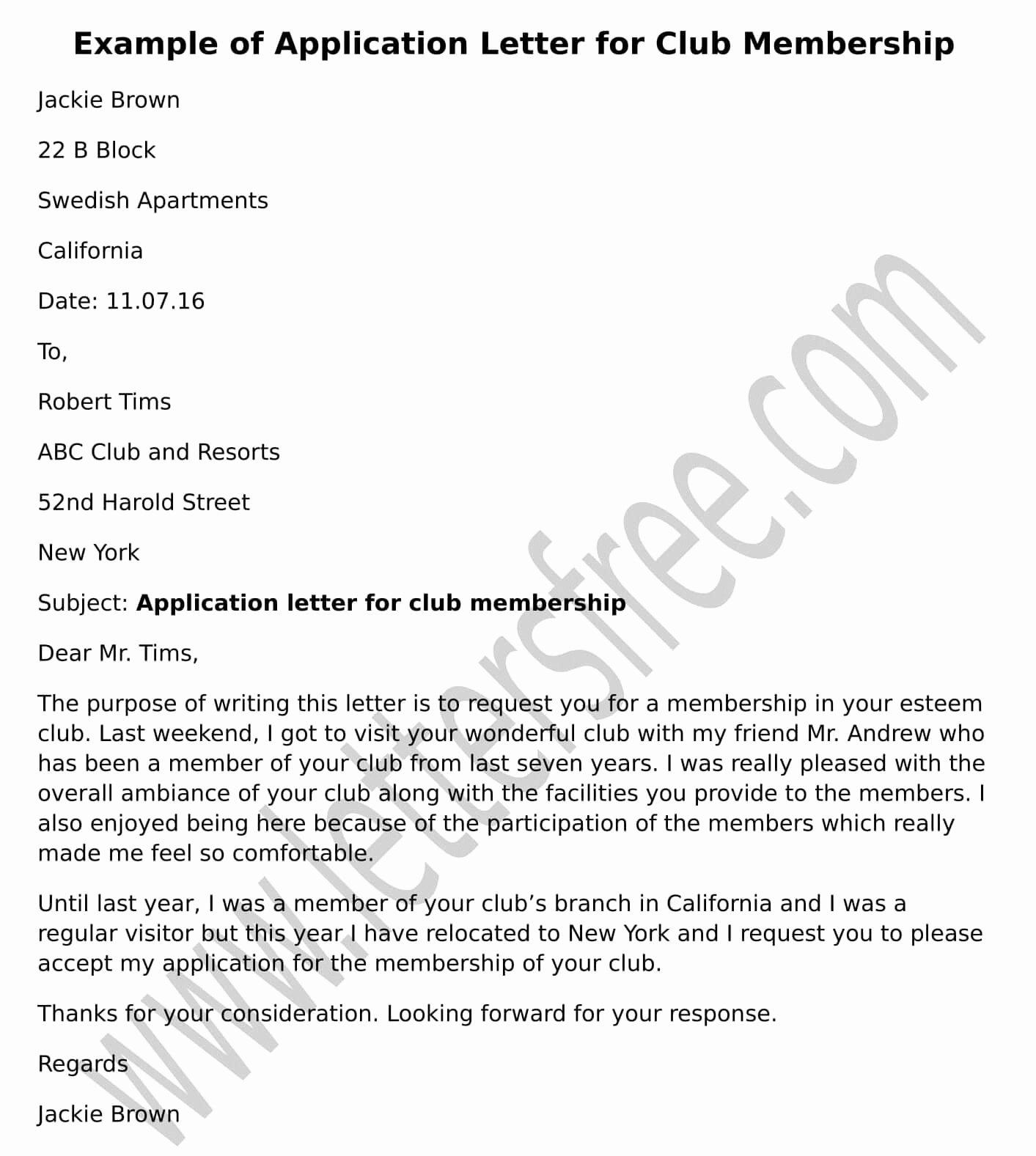 Sample Membership Application Lovely Transfer Letter for Church Membership Free Letters