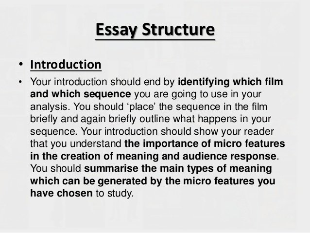 Sample Movie Review Essay Elegant Writing Your Micro Essay