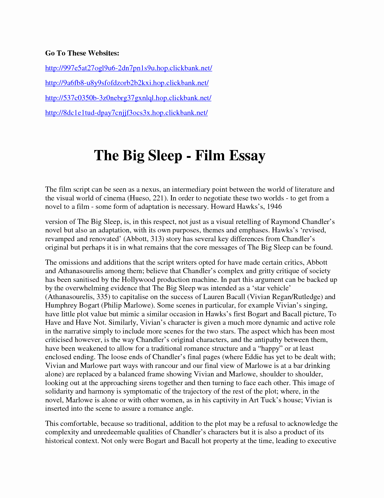 Sample Movie Review Essay Unique Review Essay Example Movie Critic the Way In which