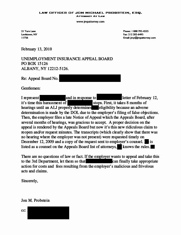 Sample Of Appeal Letter for Disqualification Luxury How to Write An Appeal Letter for Unemployment