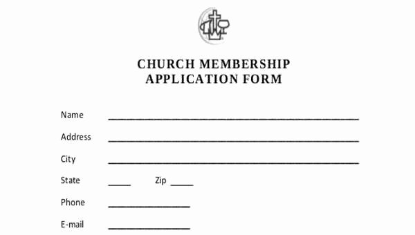 Sample Of Membership form for An organization New 7 Membership Application form Samples Free Sample
