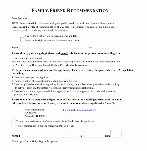 Sample Recommendation Letter for College Admission From Friend Best Of 23 Friend Re Mendation Letters Pdf Doc