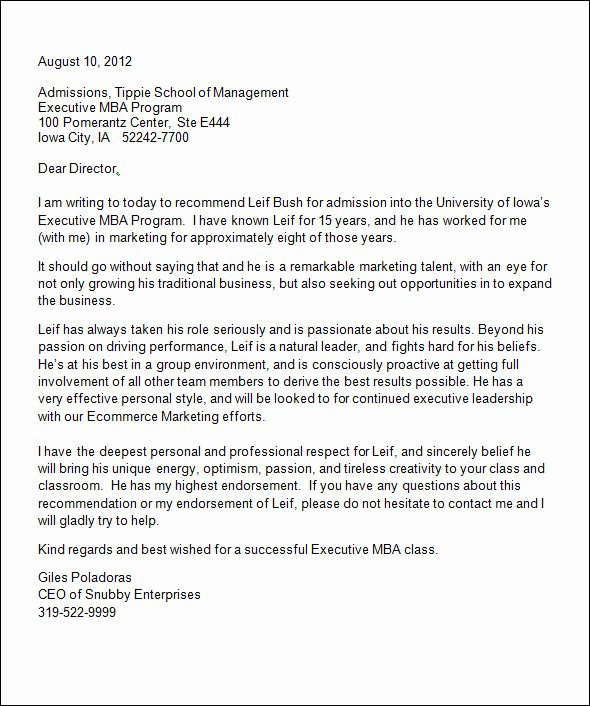 Sample Recommendation Letter for College Admission From Friend Fresh Sample College Re Mendation Letter 14 Free Documents
