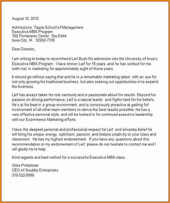 Sample Recommendation Letter for College Admission From Friend Luxury 9 Samples Of Letters Of Re Mendation for College