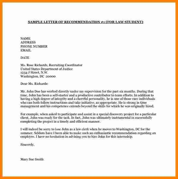 Sample Recommendation Letter for College Admission From Friend New 8 College Letter Of Re Mendation Template
