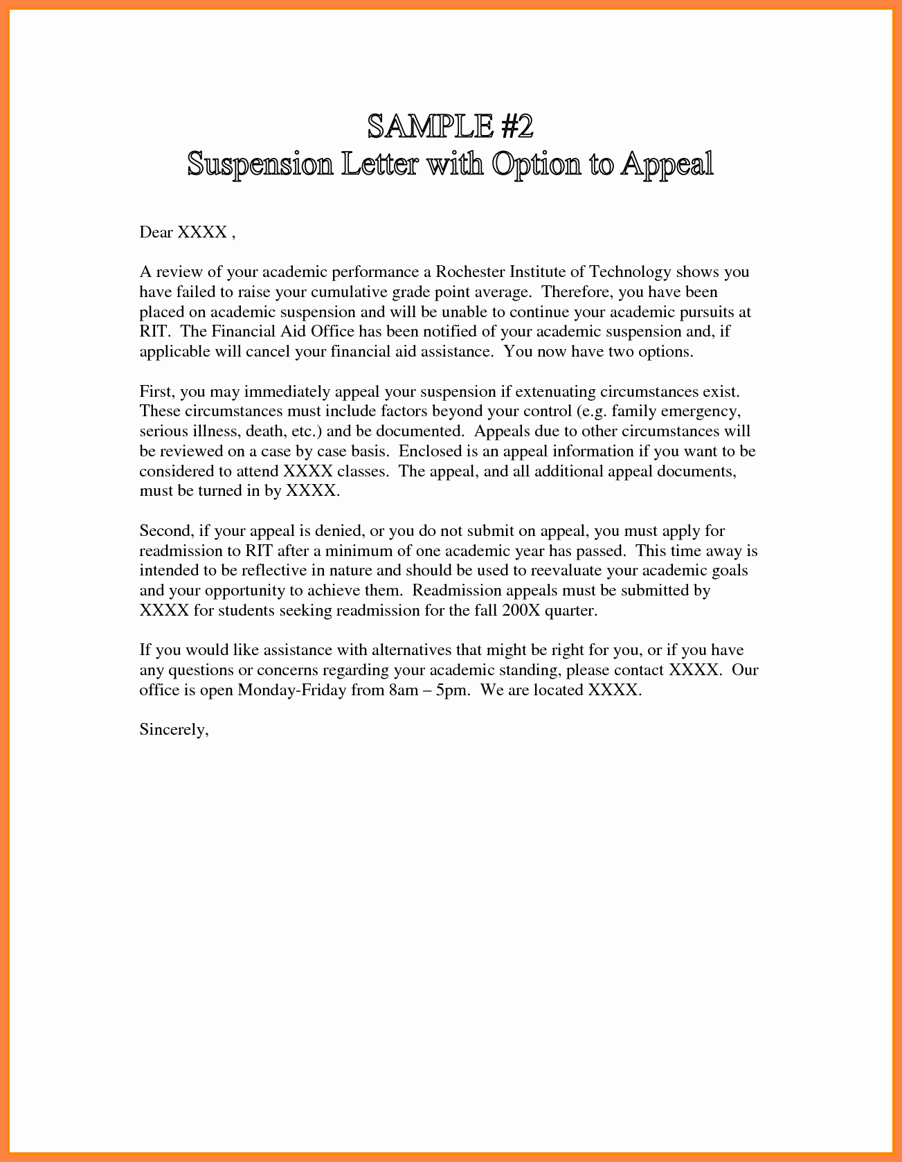 Sample Sap Appeal Letter Fresh 7 Sap Appeal Letter