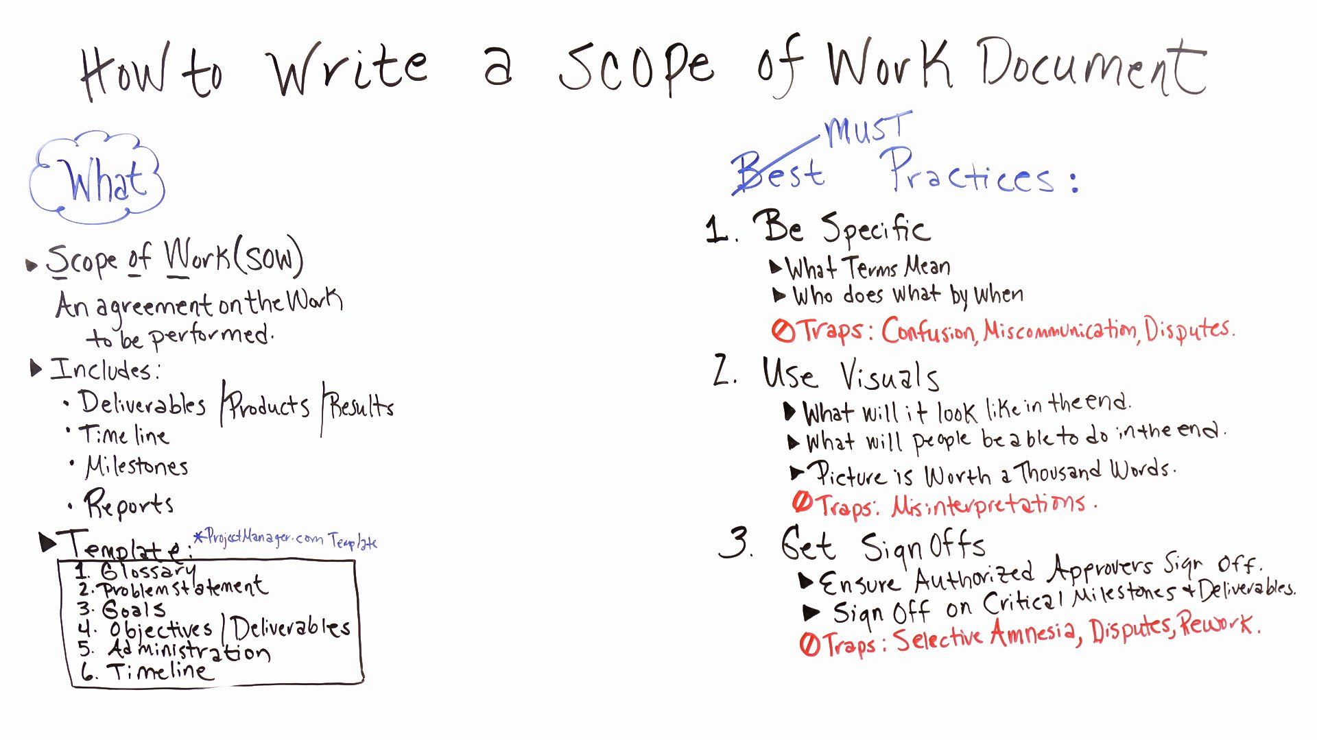 Sample Scopes Of Work Luxury How to Write A Scope Of Work Projectmanager
