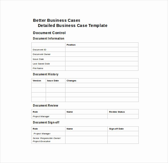 Sample Use Case Document Best Of 13 Business Case Templates Pdf Doc