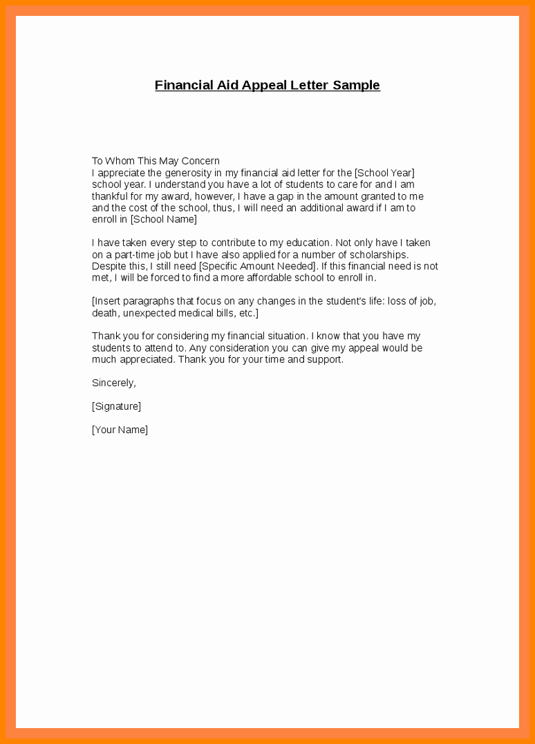 Sap Appeal Letter Awesome 9 Sap Appeal Letter
