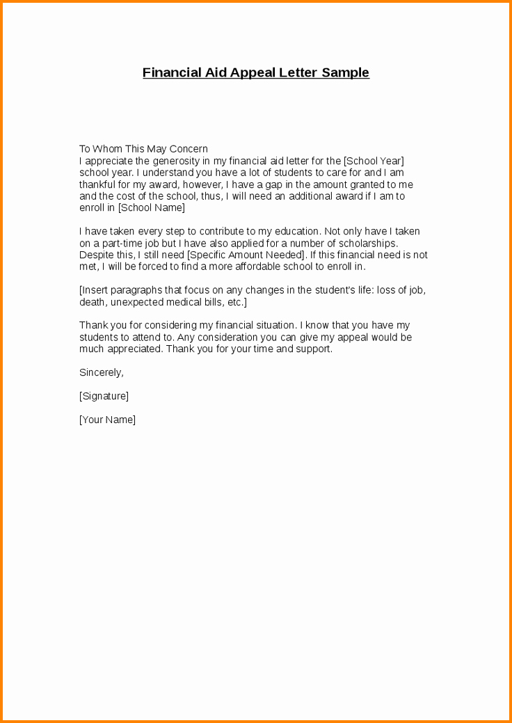 Sap Appeal Letter Example Awesome 12 Sap Appeal Letter Template