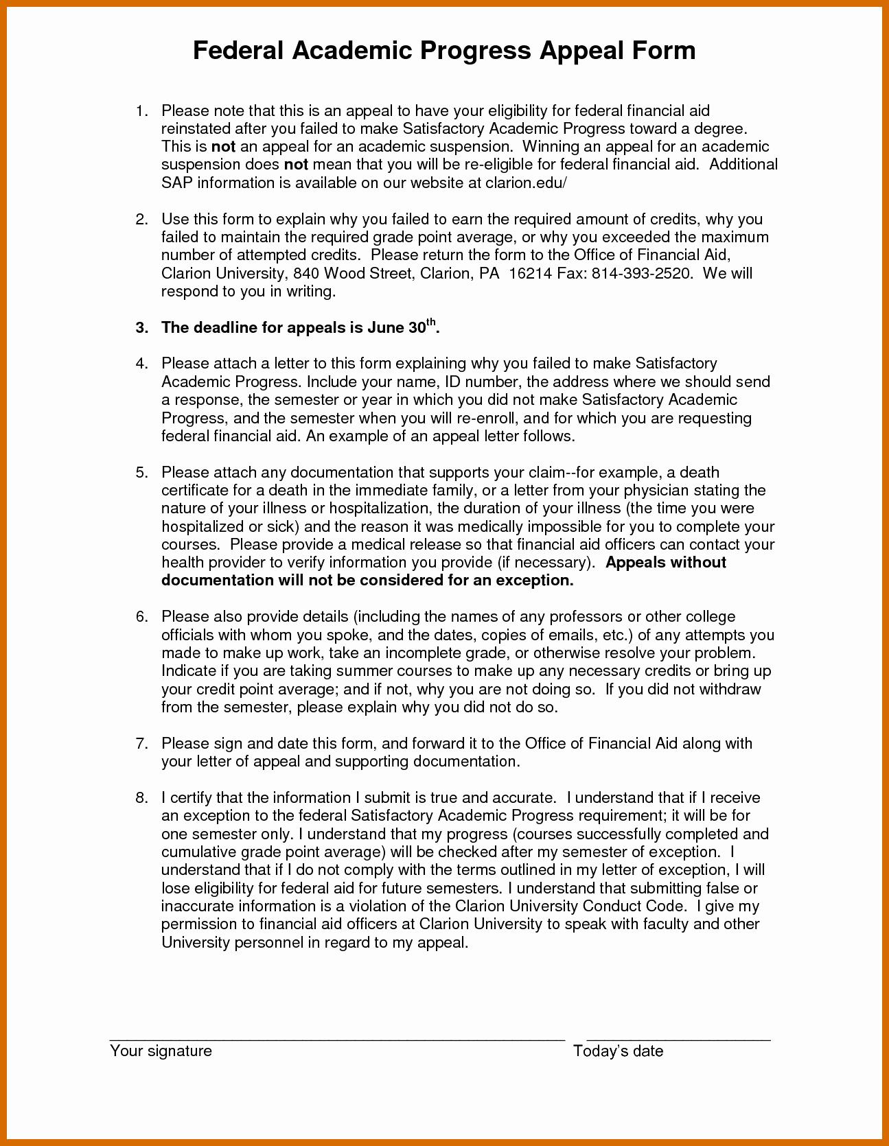 Sap Appeal Letter Example Inspirational 9 10 Sap Appeal Letter Sample