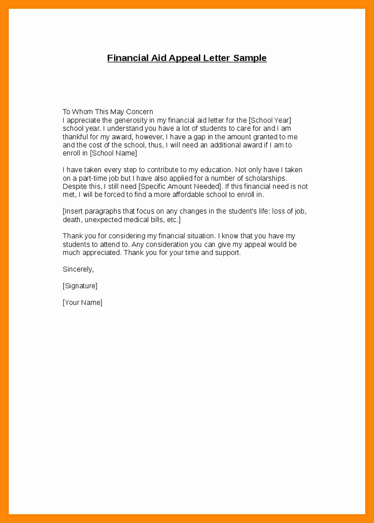 Sap Appeal Letter Example Unique 7 8 Sap Appeal Letter Example