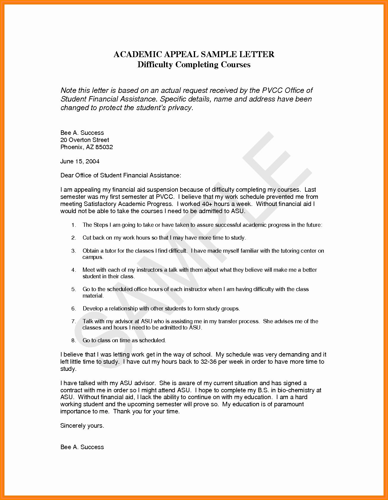 Sap Appeal Letter Fresh 12 Sap Appeal Letter Template