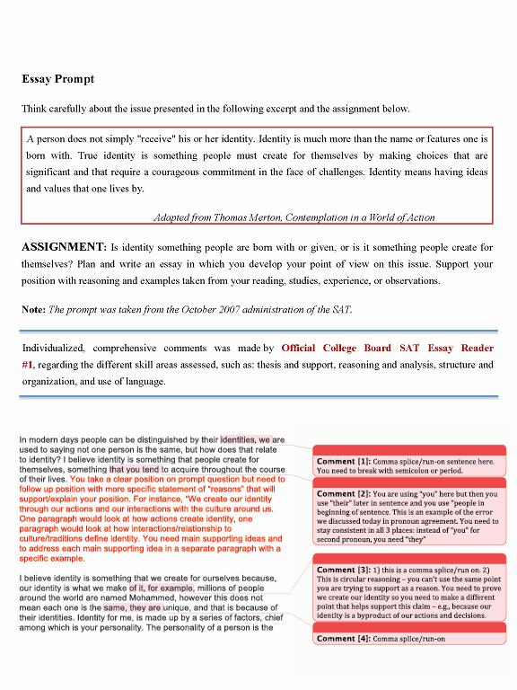 Sat Essay Paper Pdf Best Of 50 Sat Essay Examples Pdf Essay Writing Pdf Writing