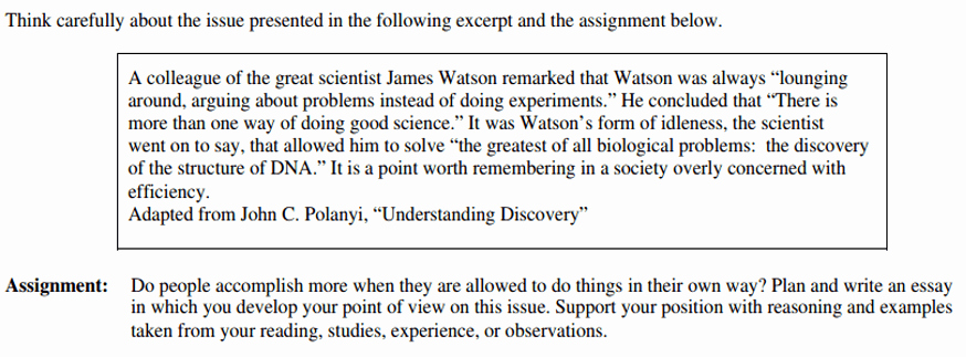 Sat Essay Template Pdf Awesome Sat Writing Sample Essay Questions