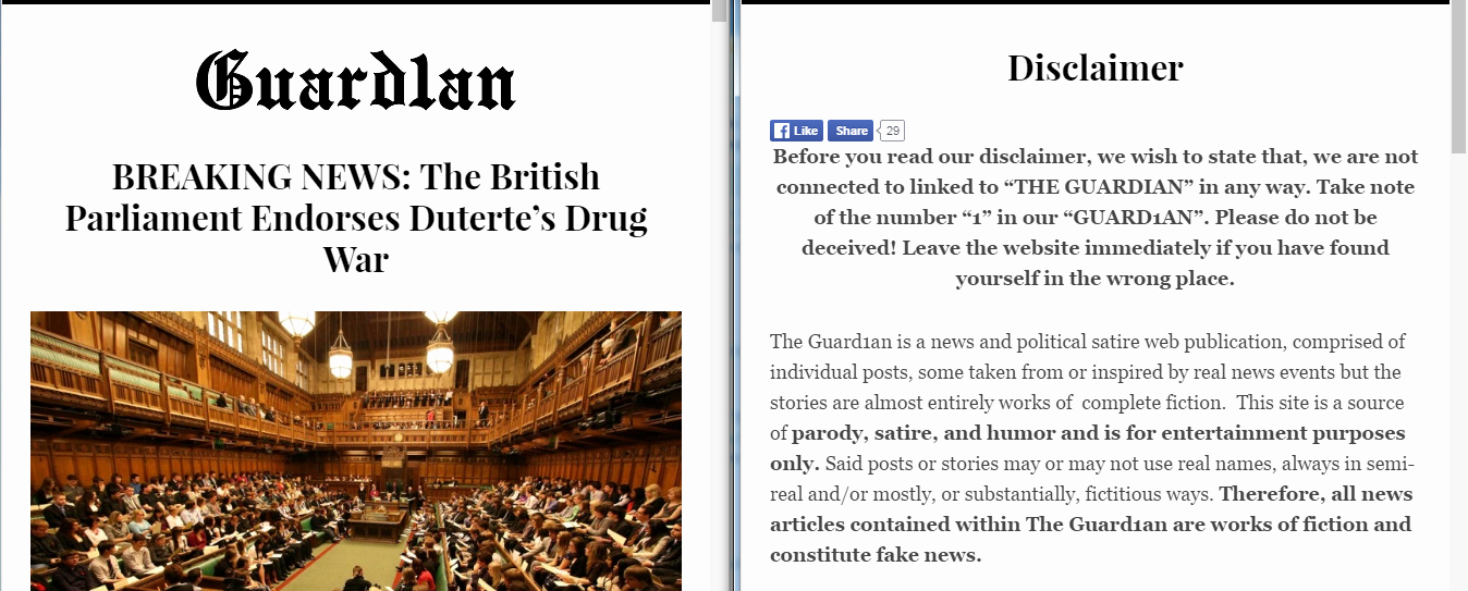 Satirical Essay On Drugs Beautiful Does the Uk Parliament Endorse Duterte's War On S