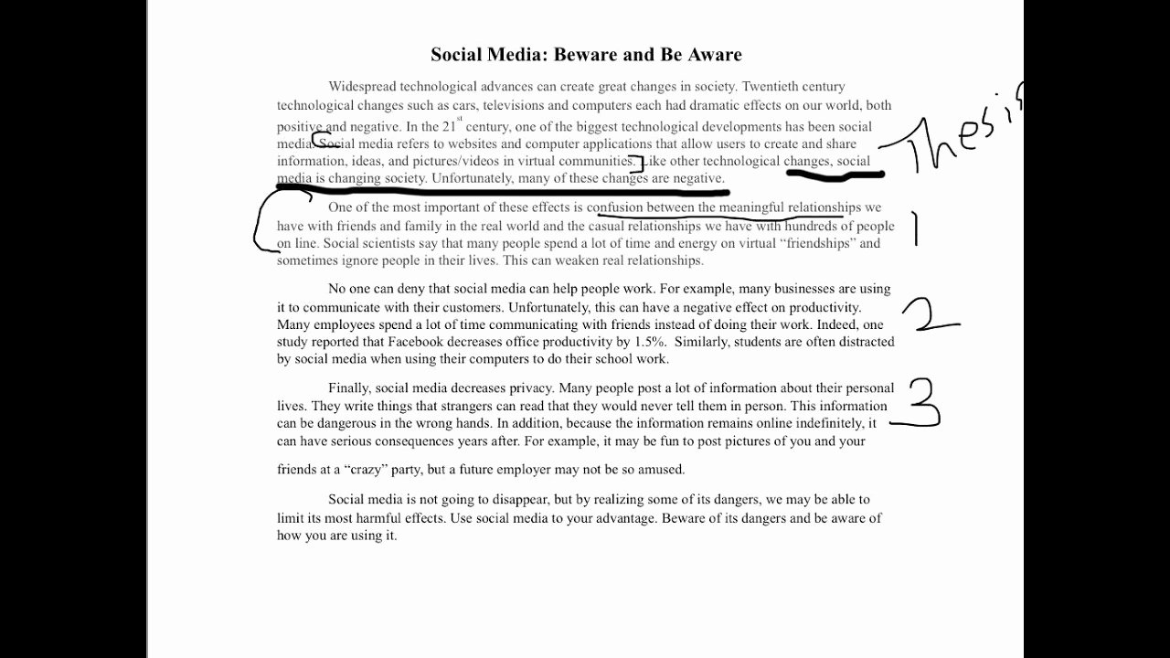 Satirical Essays On Texting Best Of social Media Example Essay
