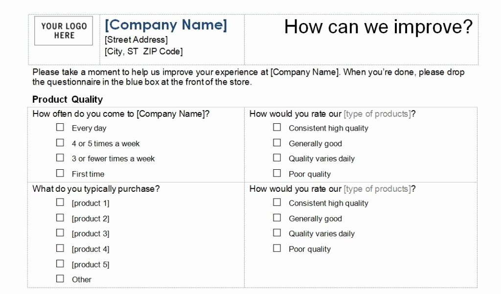 Satisfaction Survey Template Word Awesome Customer Satisfaction Survey Template Word