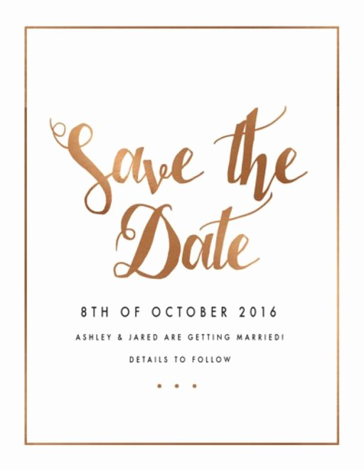Save the Date Text Template Elegant Save the Date Invitations & Cards