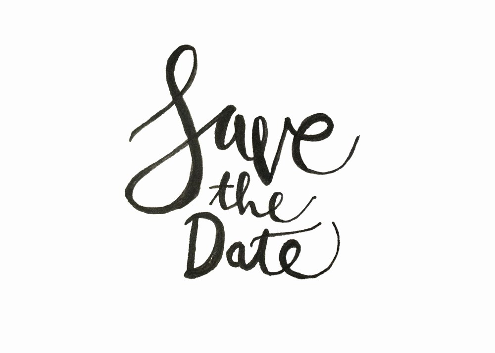 Save the Date Text Template Luxury How to Hand Letter Your Own Save the Dates Creative