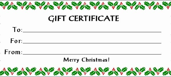 Scentsy Gift Certificate Template Best Of Free Gift Certificate Holiday with 30 Kb Gif Free