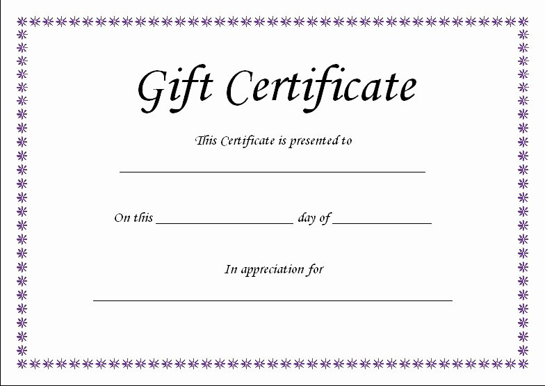Scentsy Label Template 1502 Luxury Scentsy Gift Certificate Template