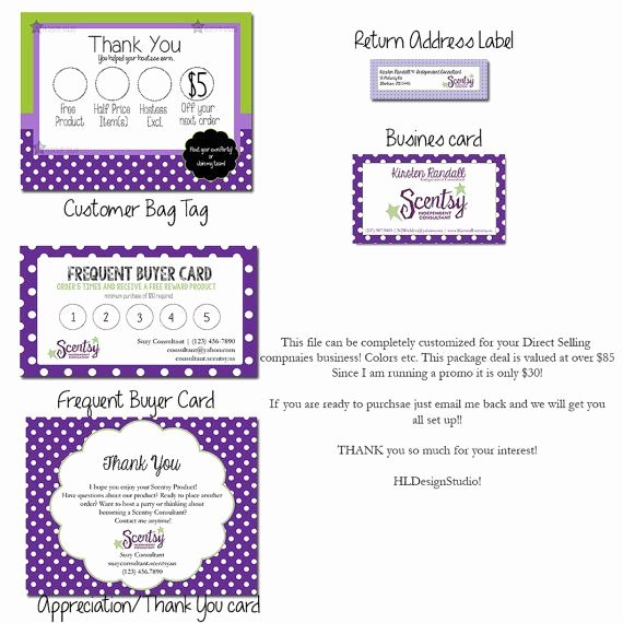 Scentsy Loyalty Cards Inspirational Scentsy Consultant Business Package Scentsy