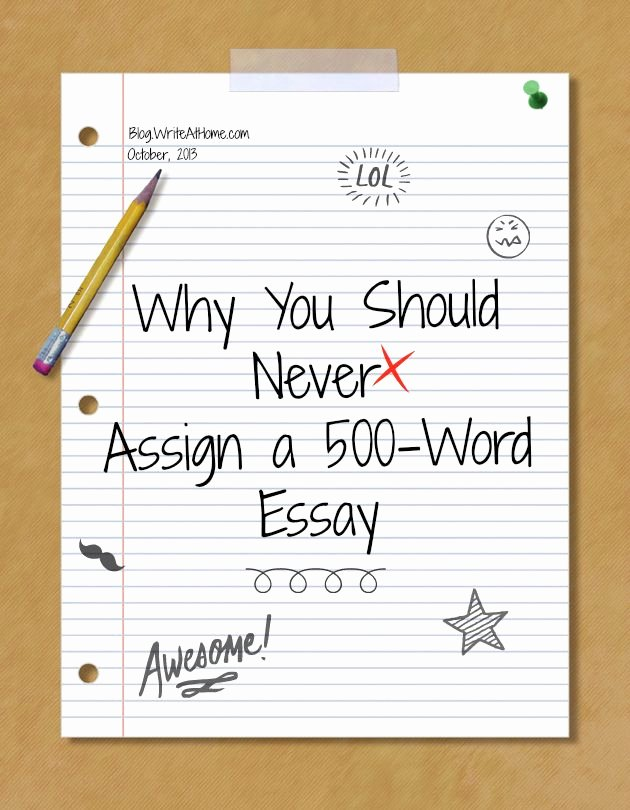 Scholarship Essay Examples 500 Words Luxury A 500 Word Essay On why