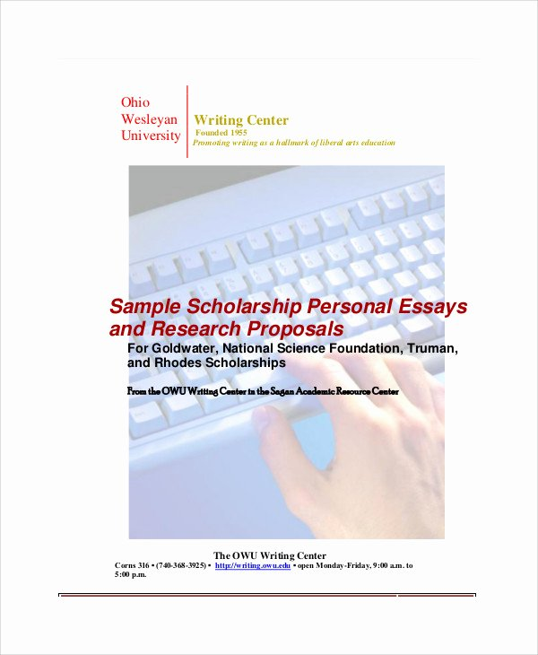 Scholarships Essays Examples About Yourself Best Of 9 Sample Personal Essays