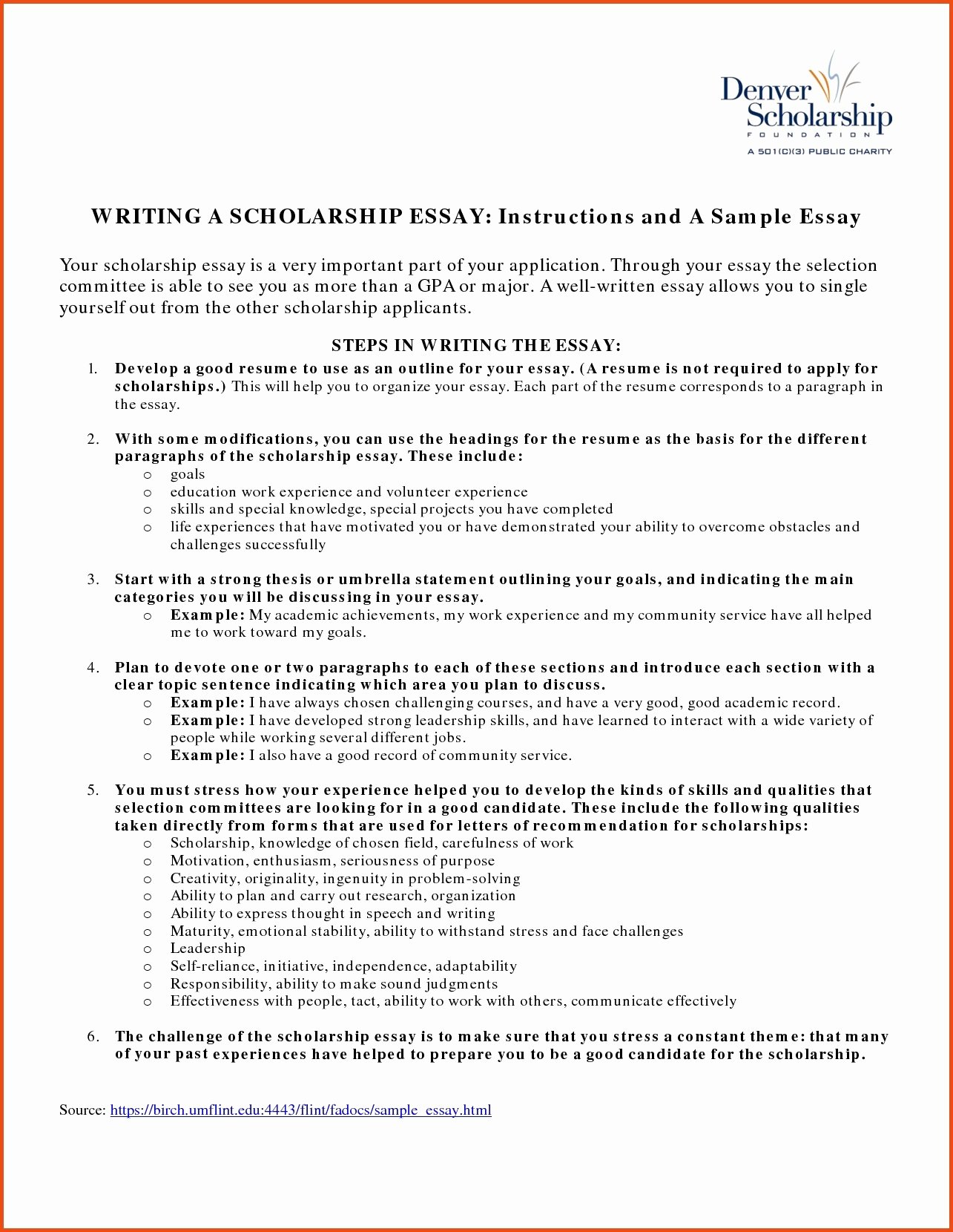 Scholarships Essays Examples About Yourself Lovely Scholarship Essay Examples About Yourself