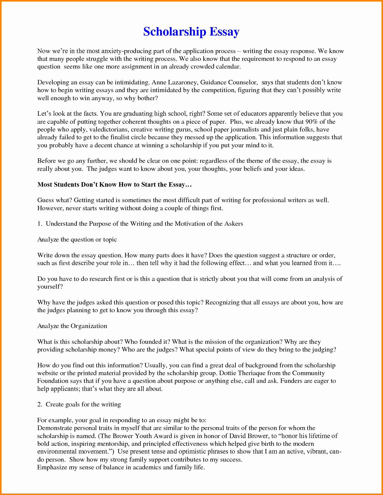 Scholarships Essays Examples About Yourself Unique Image Result for Outline for A Cover Letter for A