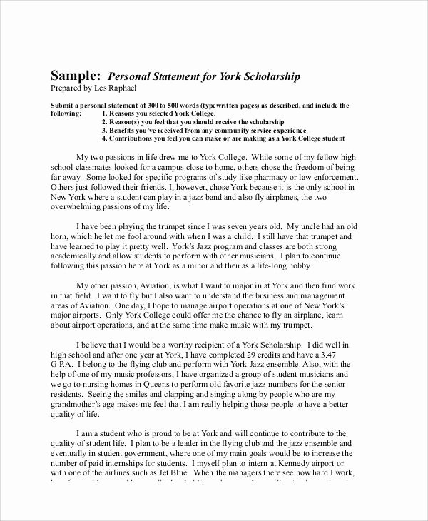 Scholarships Essays Examples About Yourself Unique Sample Scholarship Application Essay 6 Examples In Word