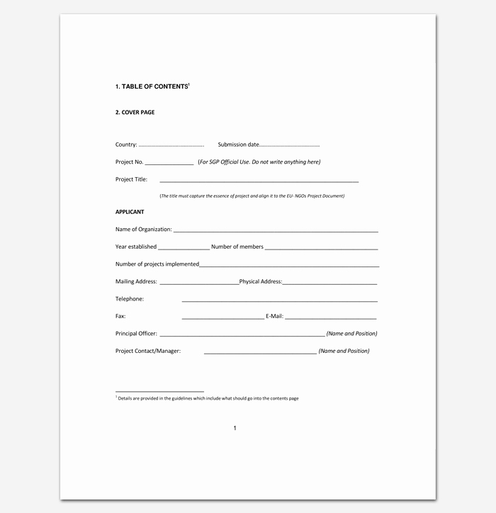 Science Fair Project Template Word Inspirational Project Outline Template 15 Sample Example format