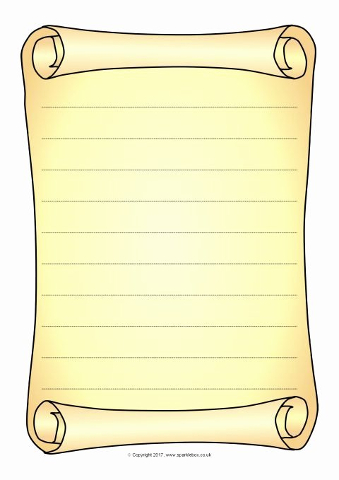 Scroll Template Word Lovely Scroll Drawing Template at Getdrawings