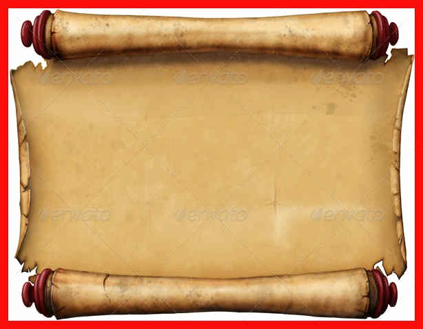Scroll Template Word Unique Scroll Template for Word
