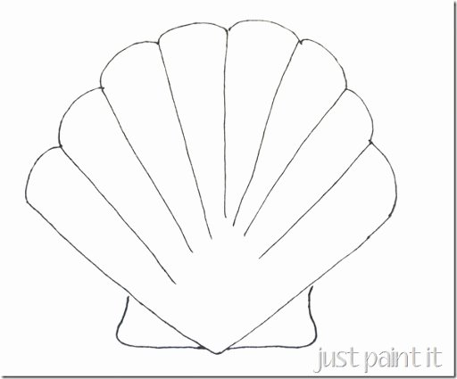 Seashell Template Printable Beautiful Free Starfish Template Download Free Clip Art Free Clip