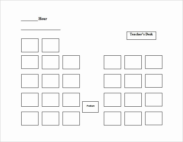 Seating Chart Template Word Elegant Seating Chart Template – 10 Free Word Excel Pdf format