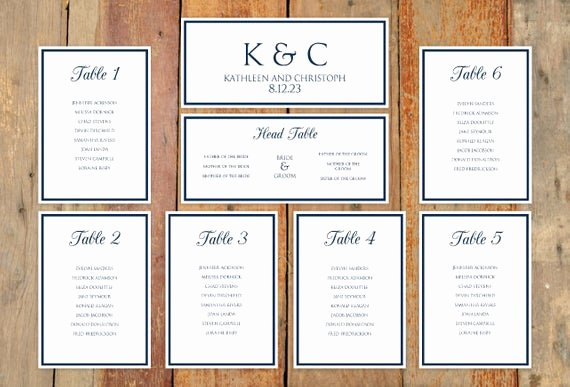 Seating Chart Template Word Inspirational Wedding Seating Chart Template Download by Diyweddingtemplates