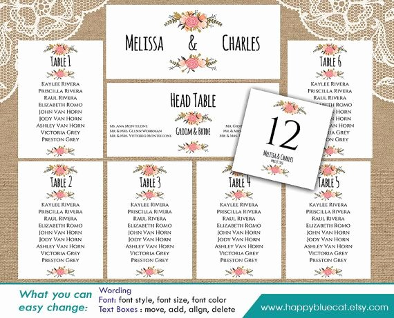 Seating Chart Template Word New Best 25 Seating Chart Template Ideas On Pinterest