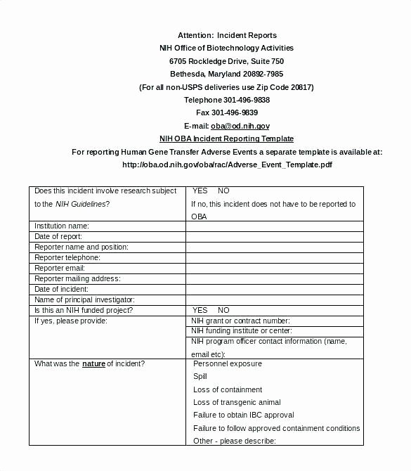 Security Guard Daily Activity Report Template Beautiful What is An Daily Incident Reports