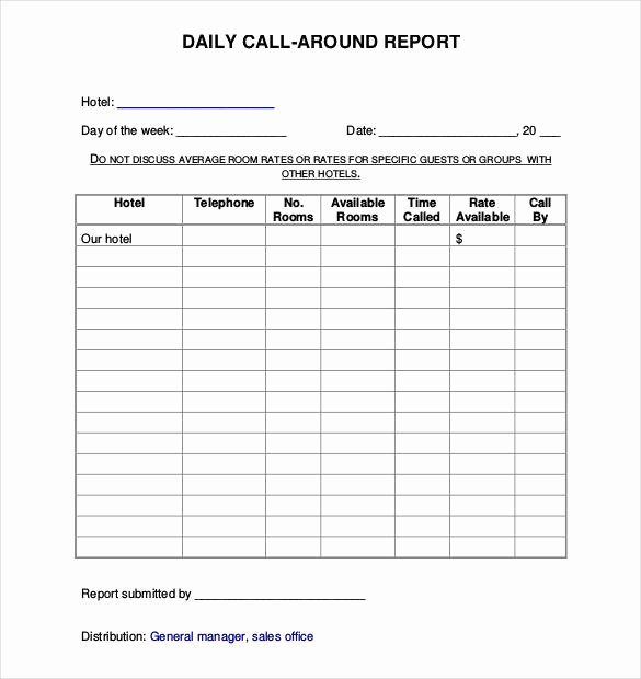 Security Guard Daily Activity Report Template Best Of 64 Daily Report Templates Pdf Docs Excel