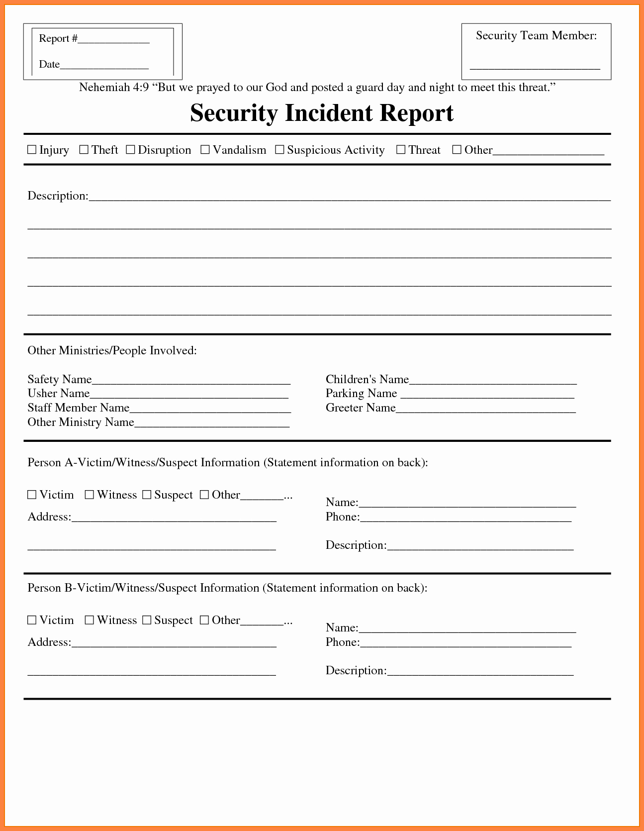 Security Guard Daily Activity Report Template Inspirational How to Write Security Ficer Incident Report How to