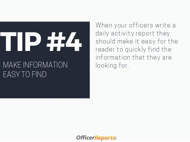 Security Officer Daily Activity Report Sample Elegant How to Write A Daily Activity Report that Matters