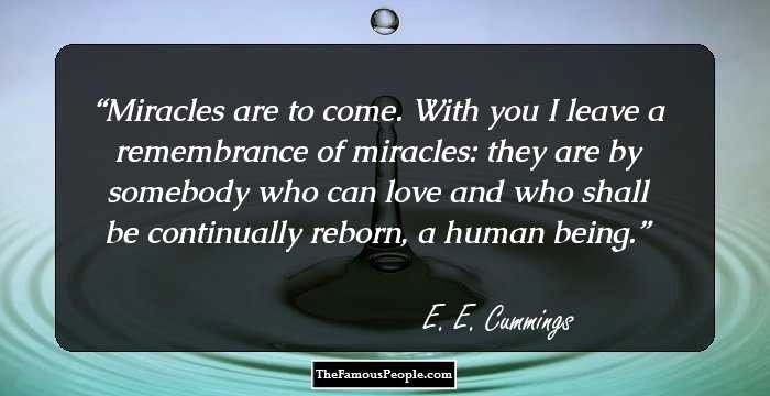 Seeker Of Truth Poem Luxury 100 Famous Quotes by E E Cummings the Author Of 100